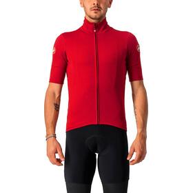 Castelli Perfetto RoS Maglietta Jersey Leggera A Maniche Corte Uomo, rosso